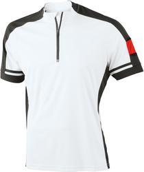 02.0452 James & Nicholson | JN 452 Moška kolesarska majica z zadrgo