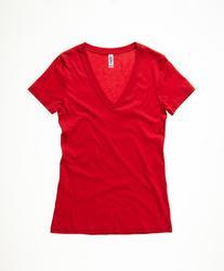 06.6035 Bella + Canvas | 6035 ženska majica z globokim v-izrezom
