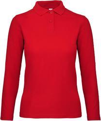 01.0I13 B&C | ID.001 LSL /women ženska polo majica z dolgimi rokavi