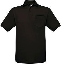 01.0415 B&C | Safran Pocket Piqué polo majica z žepom