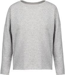 20.K471 Kariban | K471 ženski ohlapen pulover - oversize