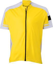 02.0454 James & Nicholson | JN 454 Moška kolesarska majica z dolgo zadrgo