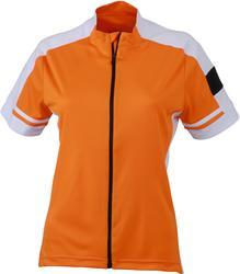 02.0453 James & Nicholson | JN 453 Ženska kolesarska majica z dolgo zadrgo