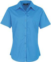 39.0302 Premier   PR302 Poplin bluza s kratkimi rokavi
