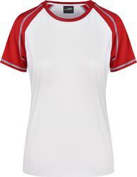 02.0011 James & Nicholson | JN 11 ženska Raglan majica