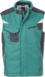 02.0825 James & Nicholson | JN 825 Workwear softshell telovnik