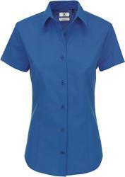 01.0P44 B&C | Heritage SSL /women Poplin bluza s kratkimi rokavi