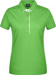 02.0725 James & Nicholson | JN 725 Ženska Piqué Polo majica z eno črto