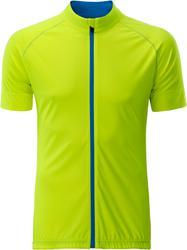 02.0516 James & Nicholson | JN 516 Moška kolesarska majica z dolgo zadrgo
