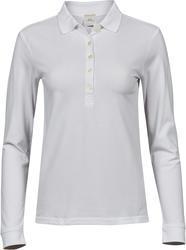 18.0146 Tee Jays | 146 Ženska Luxury Piqué raztegljiva polo majica z dolgimi rokavi