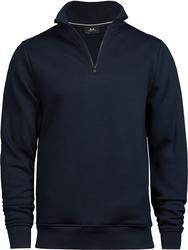 18.5438 Tee Jays | 5438 pulover s kratko zadrgo
