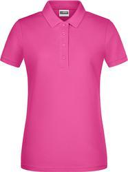 02.8009 James & Nicholson | JN 8009 ženska pique polo majica iz organskega bombaža