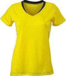 02.0471 James & Nicholson | JN 471 Ženska tekaška majica v-izrez
