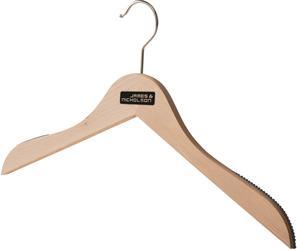 02.7137 James & Nicholson | JN 7137 Obešalnik za obleke z gumico proti zdrsavanju