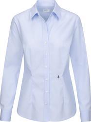 78.0619 Seidensticker | Blouse Office Slim LSL Poplin Blouse long-sleeve