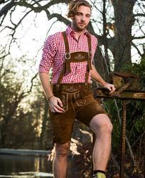 60.3101 Leather Trousers short /men usnjene kratke hlače