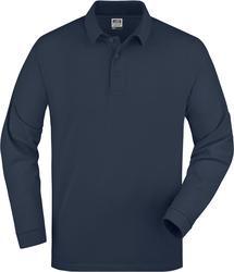 02.0022 James & Nicholson | JN 22 debelejša piqué polo majica z dolgimi rokavi