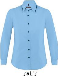 25.0569 SOL'S | Baxter Women Poplin bluza z dolgimi rokavi