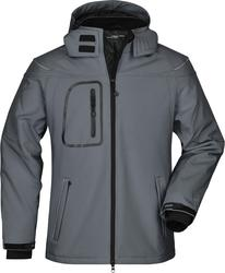 02.1000 James & Nicholson | JN 1000 moška 3-slojna zimska softshell jakna