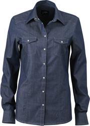 02.0628 James & Nicholson | JN 628 ženska Denim bluza