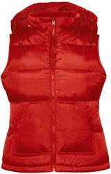 01.0935 B&C | Zen + /women Ladies' Hooded Bodywarmer