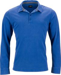 02.0714 James & Nicholson | JN 714 Moška Piqué Polo majica dolg rokav