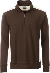 02.0868 James & Nicholson | JN 868 delovni pulover s kratko zadrgo