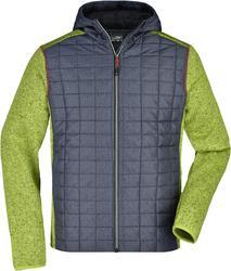 02.0772 James & Nicholson   JN 772 moška hibridna pletena jakna