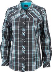 02.0579 James & Nicholson   JN 579 ženska UV-Protect Trekking bluza z dolgimi rokavi