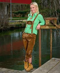60.3207 Leather Trousers long /women ženske dolge usnjene hlače