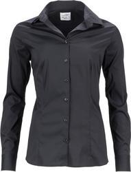 02.0645 James & Nicholson   JN 645 Ženska Poslovna oprijeta popline bluza