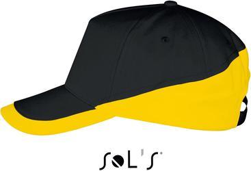 25.0595 SOL'S   Booster večbarvna kapa s 5 paneli