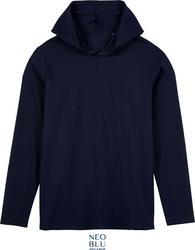 24.3186 NEOBLU | Louis Men Moška majica z dolgimi rokavi in kapuco