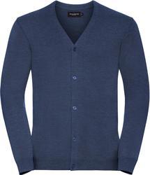 11.715M Russell | 715M moški pleteni pulover z v-izrezom
