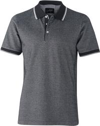 02.0704 James & Nicholson | JN 704  moška Piqué dvobarvna polo majica