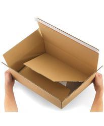 80.1350 40 škatel za hitro pakiranje 34x25x13 40 škatel z lepilnim trakom
