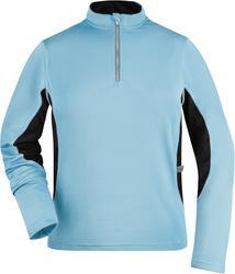 02.0317 James & Nicholson | JN 317 Ženska tekaška majica z dolgimi rokavi