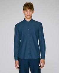 STWM572 Stanley Innovates Denim The men's denim shirt