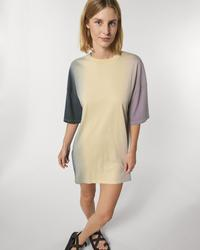 STDW160 Stella Twister Dip Dye The women's dip dyed oversized t-shirt dress