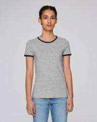 STTW061 Stella Returns The women's ringer T-shirt