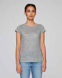 STTW431 Stella Glows Linen The women's linen t-shirt