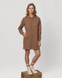 STDW143 Stella Streeter Ženska kratka obleka s kapuco