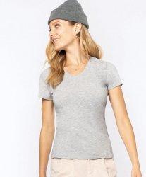 20.3015 Kariban   K3015 Ženska Majica z v-izrezom