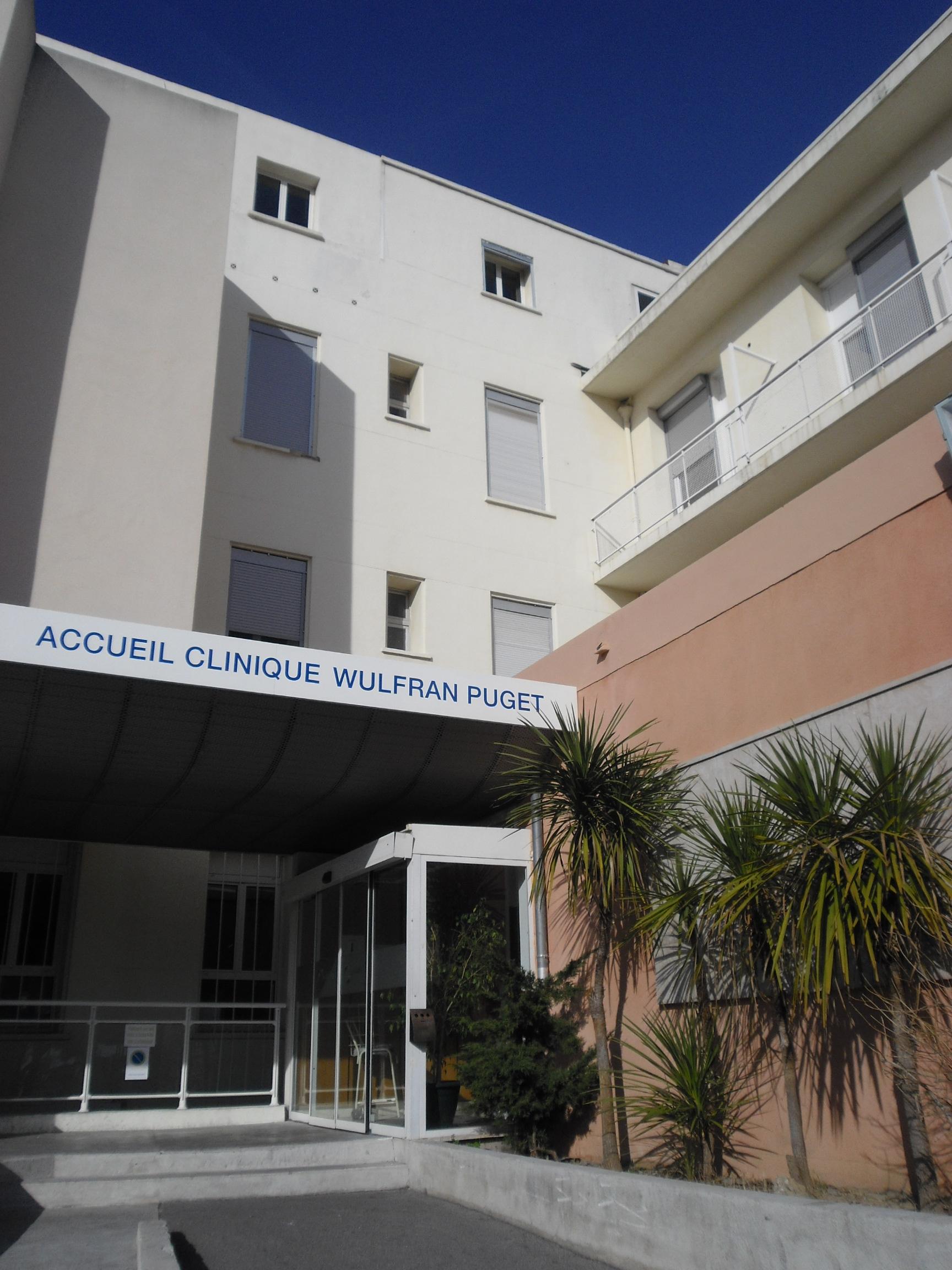 L'entrée de la Clinique Wulfran Puget.JPG