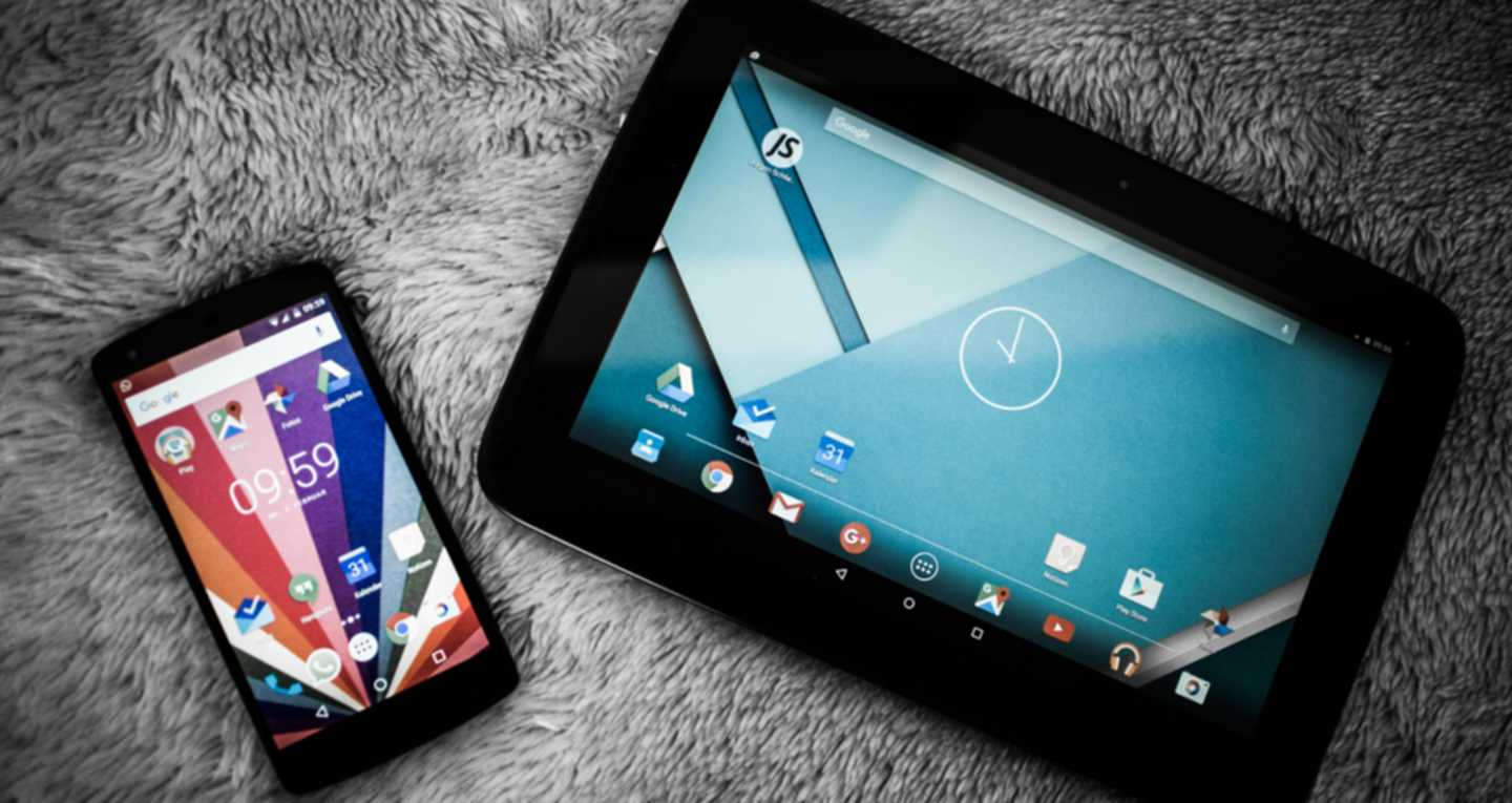 Mobile Phone und Tablet