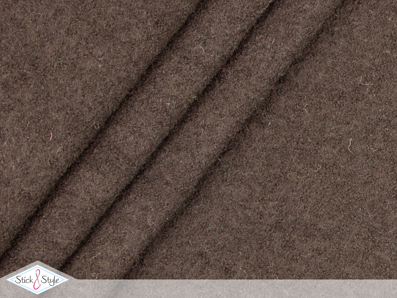 walk walkloden hellbraun wolle stoffe und meterware g nstig online. Black Bedroom Furniture Sets. Home Design Ideas