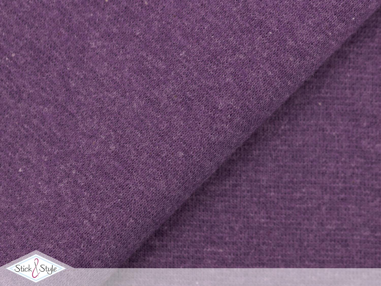 b ndchen uni brombeer meliert schlauchware stoffe und meterware g nstig online. Black Bedroom Furniture Sets. Home Design Ideas