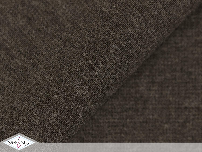 b ndchen uni braun meliert schlauchware stoffe und meterware g nstig online. Black Bedroom Furniture Sets. Home Design Ideas