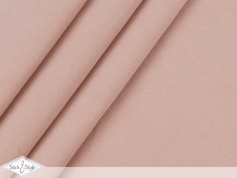 babycord elastisch rosa stoffe und meterware g nstig online. Black Bedroom Furniture Sets. Home Design Ideas