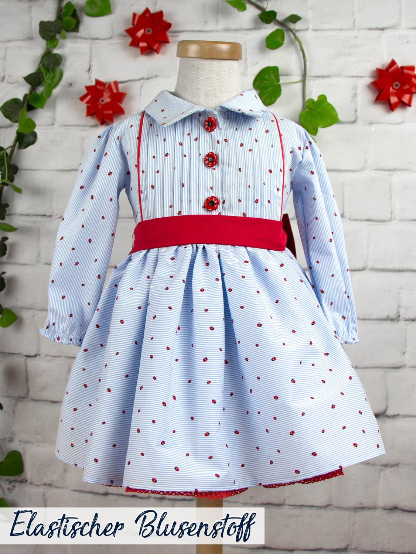 Kleid Marienkäfer - Gr. 74   Stick und Style